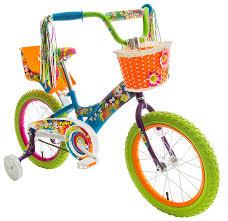 amazon com titan u0027s flower power princess bmx bike multi