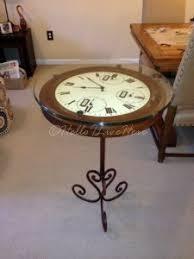Clock Coffee Table by Diy Clock Table Hometalk