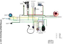 pit bike wiring diagram pit wiring diagrams instruction
