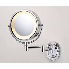 Bathroom Lighted Bathroom Mirror 25 Lighted Bathroom Mirror Jerdon 10 In L X 14 In H Lighted Wall Mirror In Bronze Direct