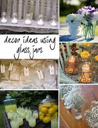 jar decorations for weddings glass jar wedding decor primadonna