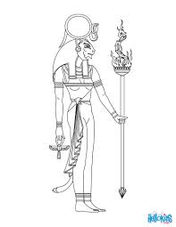 sekhmet egyptian goddess u0026 gods coloring page u0027s note i am