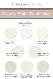 what is the best sherwin williams white paint for kitchen cabinets 8 beautiful white paint colors finds hello lovely
