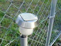 solar lights for chain link fence driveway archive fixes chain link fence solar lights rd