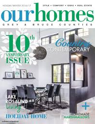 House And Home Magazine by Black And White Home Has Heated Concrete Floors Our Homes Magazine