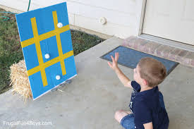 backyard carnival games for kids sticky tic tac toe