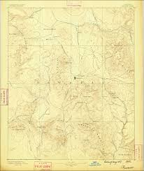 Topography Map Historical Usgs Topographic Map Of The Prescott Arizona Area