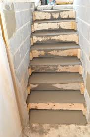 how to pour concrete stairs one project closer food