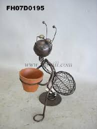 sheet iron lawn garden ornaments metal craft patio decoration