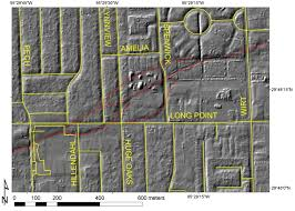houston fault map lidar mapping of faults in houston usa geosphere