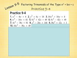 printables factoring ax2 bx c worksheet answers ronleyba