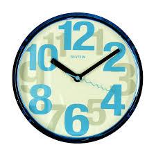colourful modern blue rhythm wall clock silent wall clock