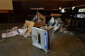 u bureau haïti violents incidents et retards lors des élections