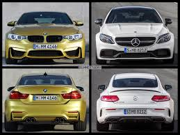 bmw amg series bmw m4 competition package vs mercedes amg c63 s coupe