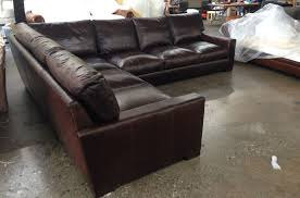 L Sectional Sofa by Braxton L Sectional Sofa In Glove Truffle U2013 43 U2033 Studio Depth The