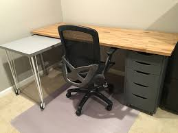Build Your Own Gaming Desk by Ikea Hack Custom Transforming Home Office Desks Saving Amy
