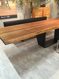 a trip into the world of stylish dining tables metalic base dining long dining table