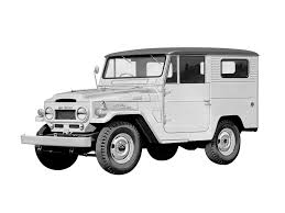 toyota jeep black mwb landcruisers bj44