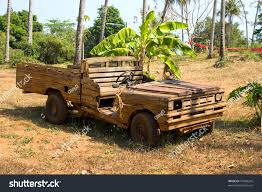 wooden car old wooden car jungle thailand stock photo 74303242 shutterstock