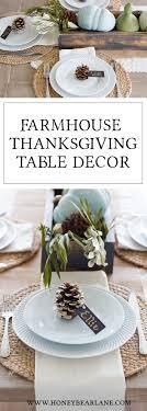 easy thanksgiving table decor honeybear