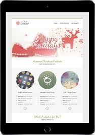 christmas email templates for the upcoming holiday mailing gt3