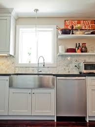 sinks glamorous apron front stainless steel sink white farmhouse
