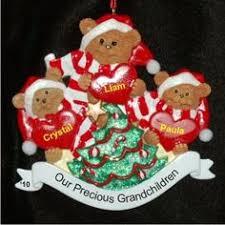 Grandparent Ornaments Personalized 4 Grandkids Noel Grandparents Ornament Grandkids Noel And