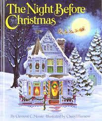 twas the night before christmas book jan brett cheminee website