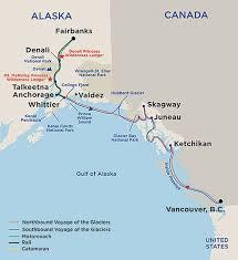 denali national park map denali explorer cruisetours princess cruises