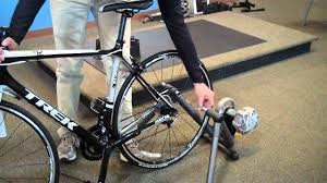 Indoor Bike How To Install Your Bicycle In A Cycleops Indoor Trainer Youtube