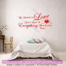 vinyl wall stickers jalaluddin rumi quote on love vinyl wall art stickers rumi wall
