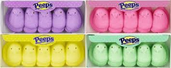 easter marshmallow candy easter marshmallow peeps variety pack 4ct