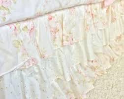 White Bed Skirt Queen Duvet Covers Etsy