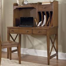small writing desk with hutch with writing desk