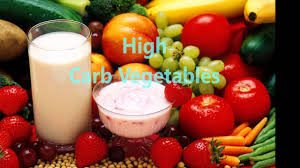 low and high carb vegetables list low carb diet 2016