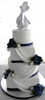 wedding cake icing best 25 navy blue wedding cake icing ideas on blue