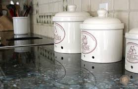 canisters for the kitchen what u0027s on your kitchen counter domestic charm
