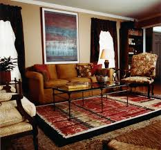 Carpets For Living Room by Amazing Decorating Ideas Using Rectangular Black Leather Sofas And
