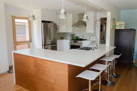 brown modern kitchen wonderful mid century modern kitchen cabinets images design ideas