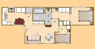 the 480 sq ft big t shipping container floor plan view cozy u0027s