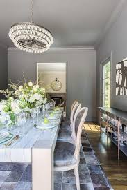 Chandelier Over Table Rosenheck Robert Abbey Bling Chandelier Over Quartzite Top Dining