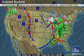 us weather map cold fronts weather and songbird migration 2011