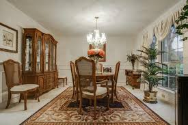 Wainscoting In Dining Room Traditional Dining Room With Wainscoting U0026 Chandelier In