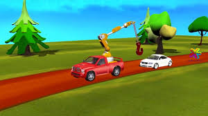Tow Trucks For Children Cars Jeeps Cartoons For Children