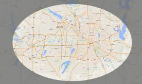 Dallas Fort Worth Area Map by Trexshred Service Areas For The Dallas Fort Worth Area