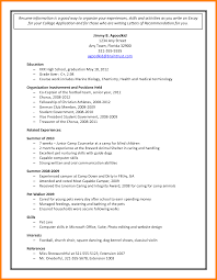 sample resume for highschool students sample resume for college free resume example and writing download high school student resume college application college college application sample 11 sample resume for college application