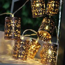 Battery Operated Fairy Lights by Battery Operated 1 1m Led Warm White Retro Round Lantern String