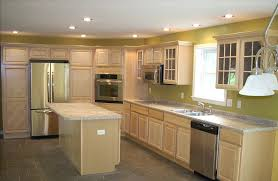 contemporary light maple kitchen cabinets with hardwood floors