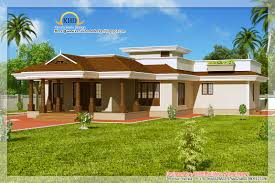 Kerala Style House Plans Single Floor by 1 Floor Houses Bedroom One Floor Kerala Style Home Design Indian
