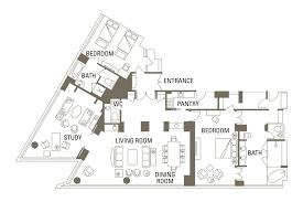 100 presidential suite floor plan phoenician scottsdale az